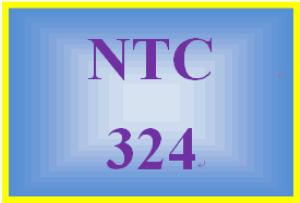 NTC 324 Week 5 Individual: Lab Challenge | eBooks | Education