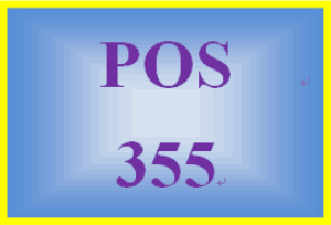 POS 355 Week 1 Individual: Operating Systems Comparison | eBooks | Education