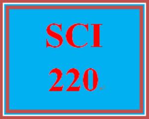 SCI 220 Entire Course   eBooks   Education