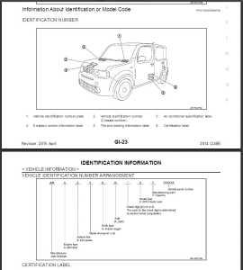 2014  nissan cube z12 service repair manual & wiring diagram