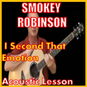 Learn to play I Second That Emotion by Smokey Robinson | Movies and Videos | Educational