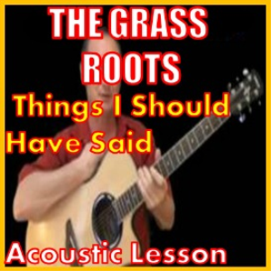 learn to play things i should have said by the grass roots