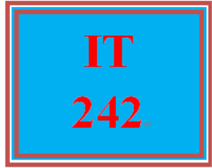 IT 242 Week 3 Individual: Recommendation Memo | eBooks | Education