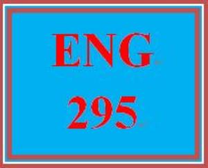 ENG 295 Week 5 Character Development | eBooks | Education