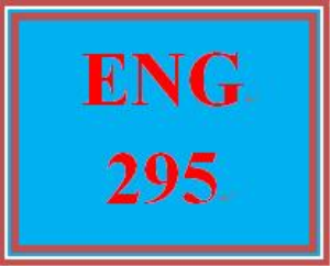 ENG 295 Entire Course Link | eBooks | Education