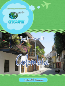 let's go geography:  columbia  (south america)