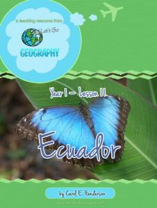 Let's Go Geography:  Ecuador  (South America)   eBooks   Education