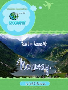 let's go geography: norway  (europe)