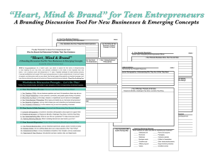heart mind & brand for teens