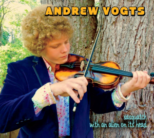 "CD-298 Andrew Vogts ""Sasquatch with an Alien On Its Head"" 