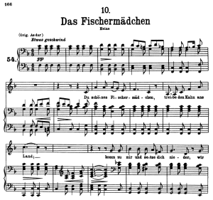 Das Fischermädchen, D.957-10, Low Voice in F Major, F. Schubert | eBooks | Sheet Music
