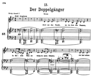 Der Doppelgänger, D.957-13, Low Voice in G Minor, F. Schubert | eBooks | Sheet Music