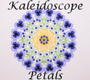 Kaleidoscope Petals DST | Crafting | Embroidery