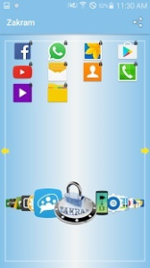 zakram: android app locker