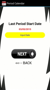 Menstrual Period Calendar App | Software | Utilities