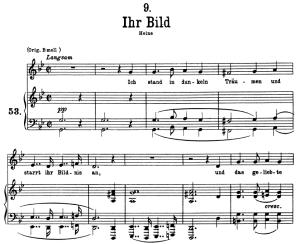 Ihr Bild D.957-9, Low Voice in G minor, F. Schubert | eBooks | Sheet Music