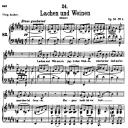 Lachen und Weinen D.777, Low Voice in E Major, F. Schubert | eBooks | Sheet Music