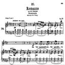 Romanze D.797, Low Voice in E-Flat minor, F. Schubert   eBooks   Sheet Music