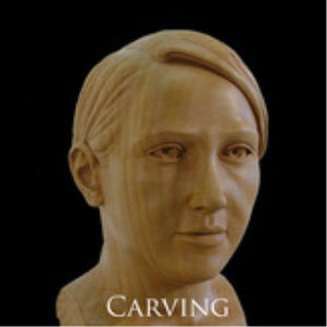 Carving a Female Head Ebook | eBooks | Arts and Crafts