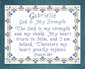 name blessings - gabrielle