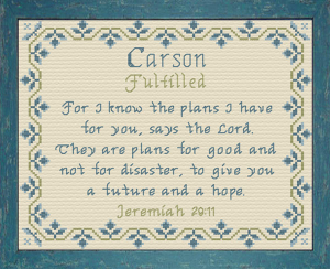 name blessings - carson 4