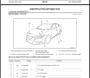 2017 nissan maxima a36 service repair manual & wiring diagram