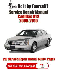 Cadillac DTS 2006, 2007, 2008, 2009, 2010 PDF Factory Service Repair Manual | Documents and Forms | Manuals