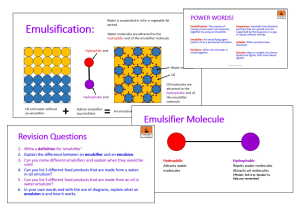 Emulsification | eBooks | Education