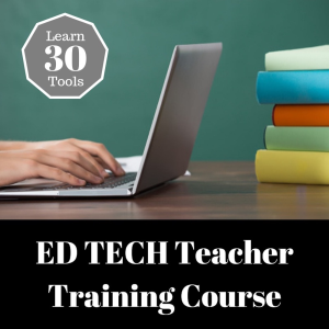ed tech training for teachers