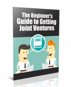 brand new - the beginners guide to getting joint ventures!