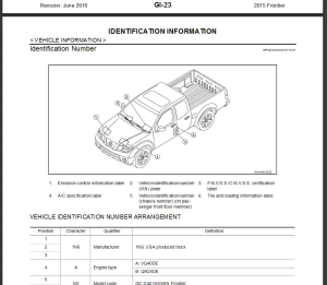 2015 nissan frontier d40 service repair manual & wiring diagram