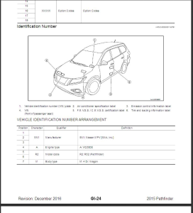 2015 nissan pathfinder r52 service & repair manual & wiring diagram