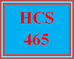 HCS 465 Week 4 Ethical Scenario | eBooks | Education