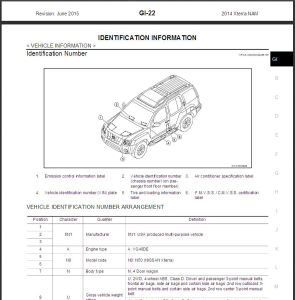 2014 nissan xterra n50 service & repair manual wiring diagram