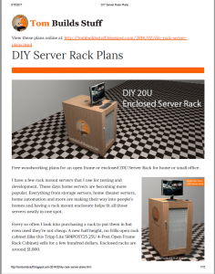 tombuildsstuff diy server rack plans