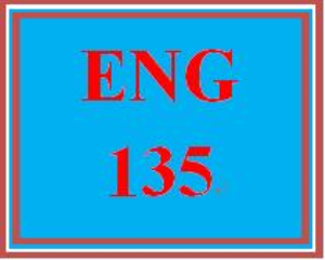 ENG 135 Entire Course | eBooks | Education
