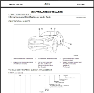 2015 infiniti qx70 s51 service repair manual & wiring diagram