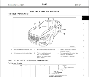 infiniti q70 y51 2015 service repair manual & wiring diagram