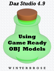 using game ready obj models in daz studio 4.9