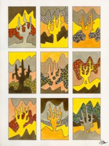 claude's art:   dessin # 88g wallpaper