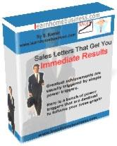 Sales Letters That Get You  Immediate Results | eBooks | Business and Money