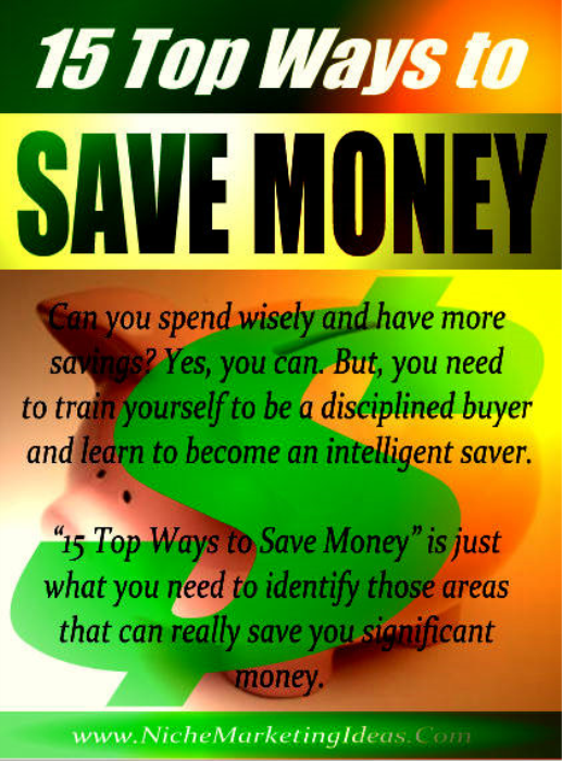 First Additional product image for - 15 Ways To Save Money
