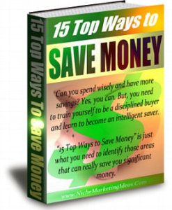 15 ways to save money