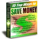 15 Ways To Save Money   eBooks   Finance