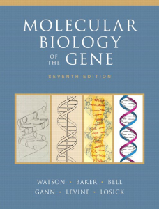 molecular biology of the gene 7th edition by james d. watson (e-book, pdf)