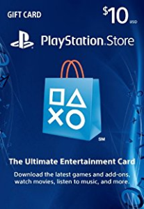 $10 PlayStation Store Gift Card - PS3/ PS4/ PS Vita [Digital Code] | Software | Games