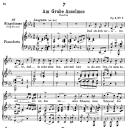 Am grabe Anselmos D.504, Low Voice in C minor, F. Schubert | eBooks | Sheet Music