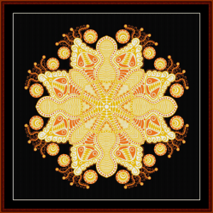 Fractal 605 cross stitch pattern by Cross Stitch Collectibles | Crafting | Cross-Stitch | Wall Hangings