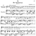 Der Geistertanz D.116,  Low Voice in C minor, F. Schubert | eBooks | Sheet Music