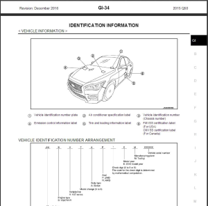 2015 infiniti q50 v37 service repair manual & wiring diagram